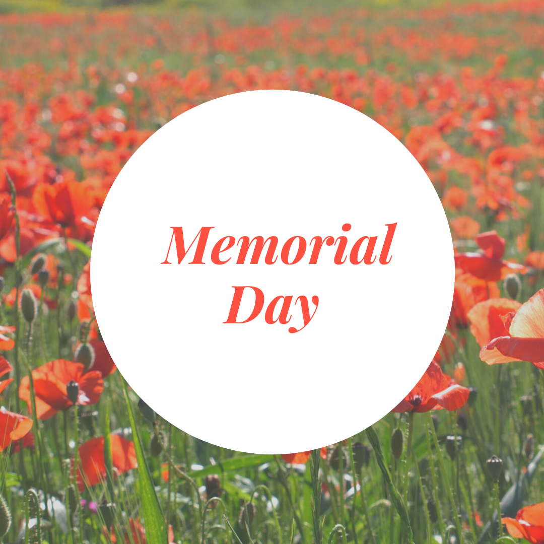Wishing you all the best this Memorial Day weekend
