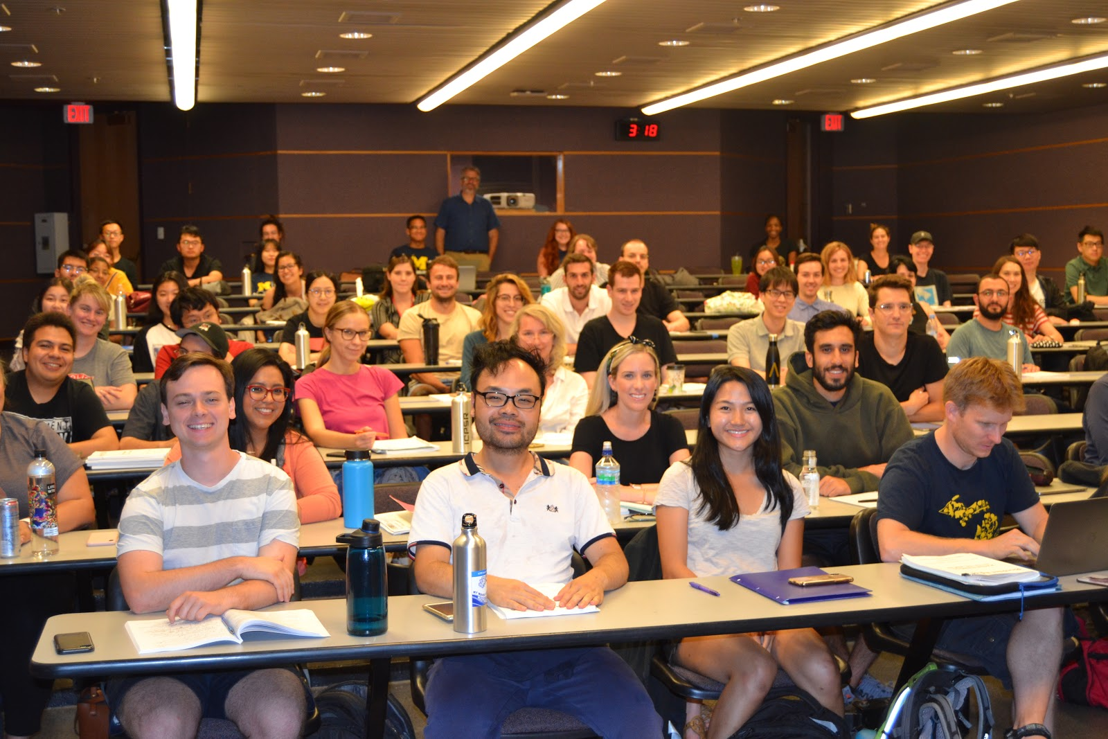 Summer program classroom